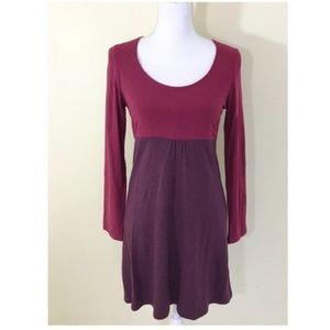 Boden Color Block Long Sleeve Dress